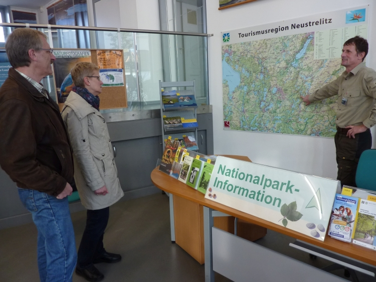 Nationalparkinfo Neustrelitz