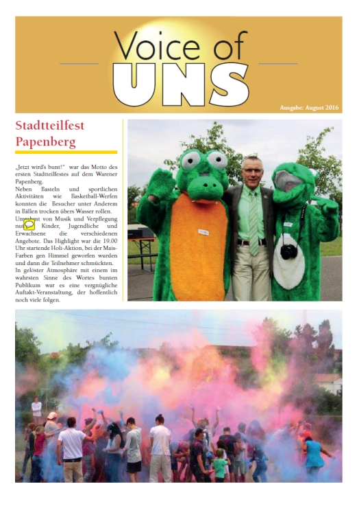 Voice of UNS August 2016