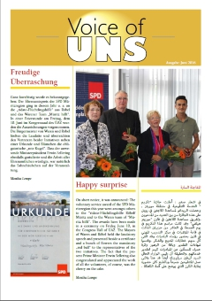 Voice of UNS Juni 2016