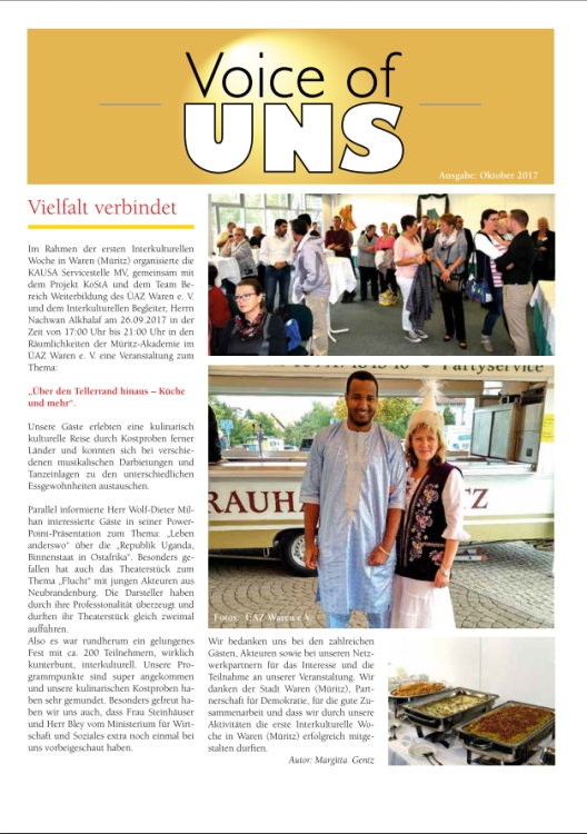 Voice of UNS Oktober 2017